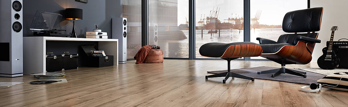 High Quality And Robust Laminate Flooring Made From Sustainable Wood Of Trusted Swiss Krono