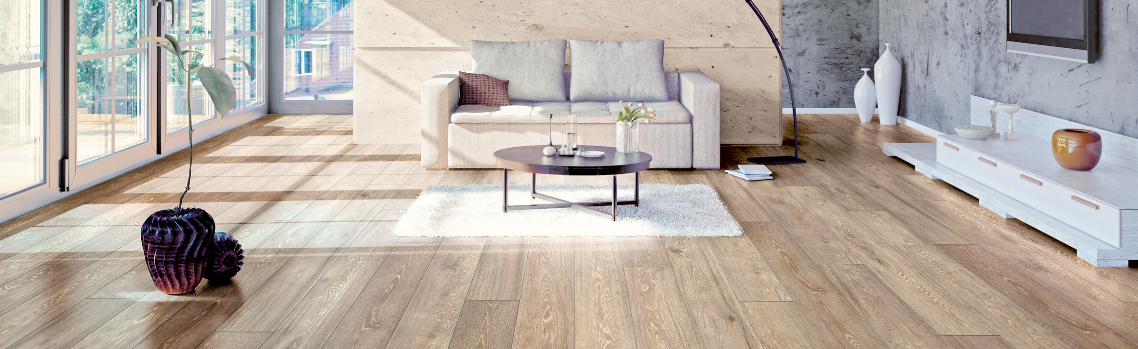 Discover appropriate and useful information regarding laminate flooring in the SWISS KRONO laminate advisor, including tips for maintenance and laying.