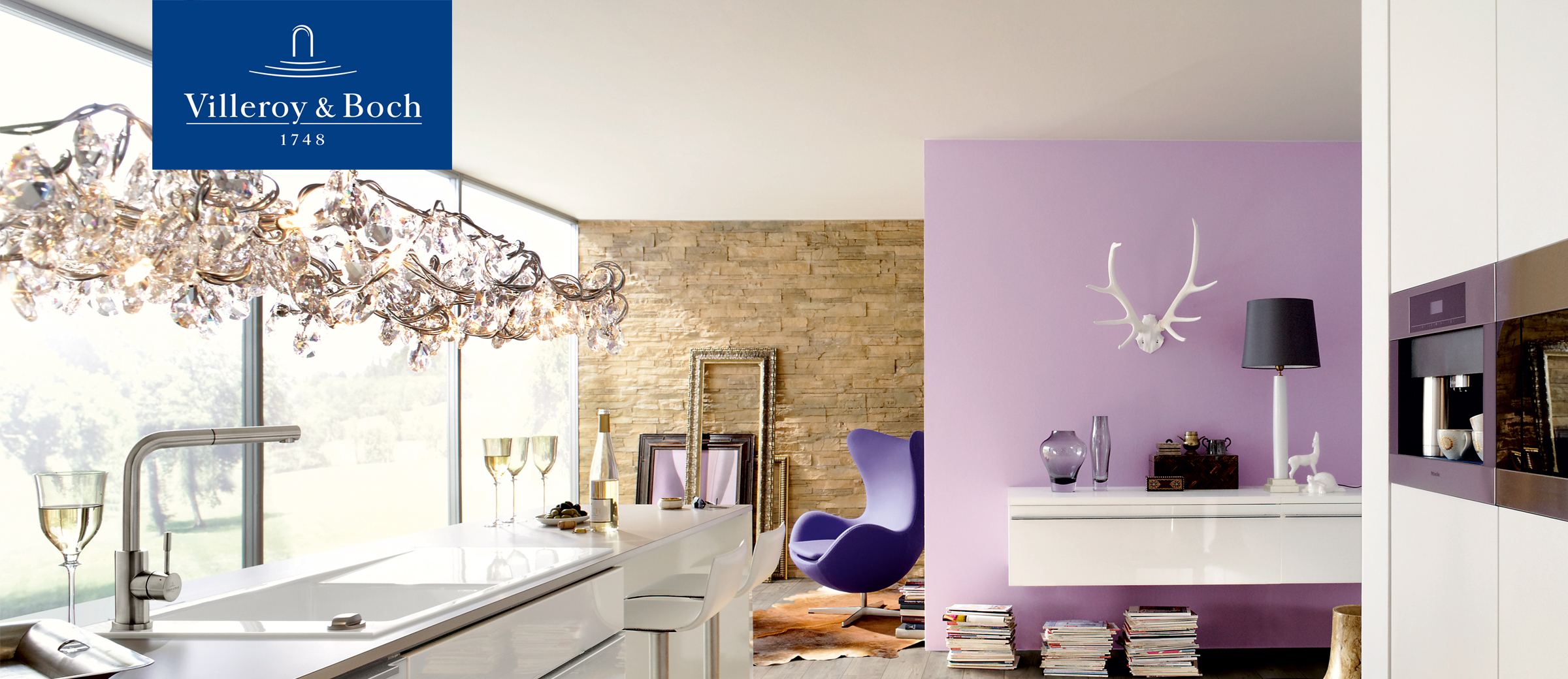 Villeroy and Boch collection with high-quality laminate flooring and exclusive wooden decors.